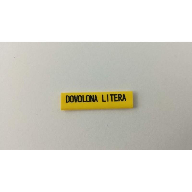 Oznacznik kablowy nasuwany dowolna litera przek. 2,5mm2
