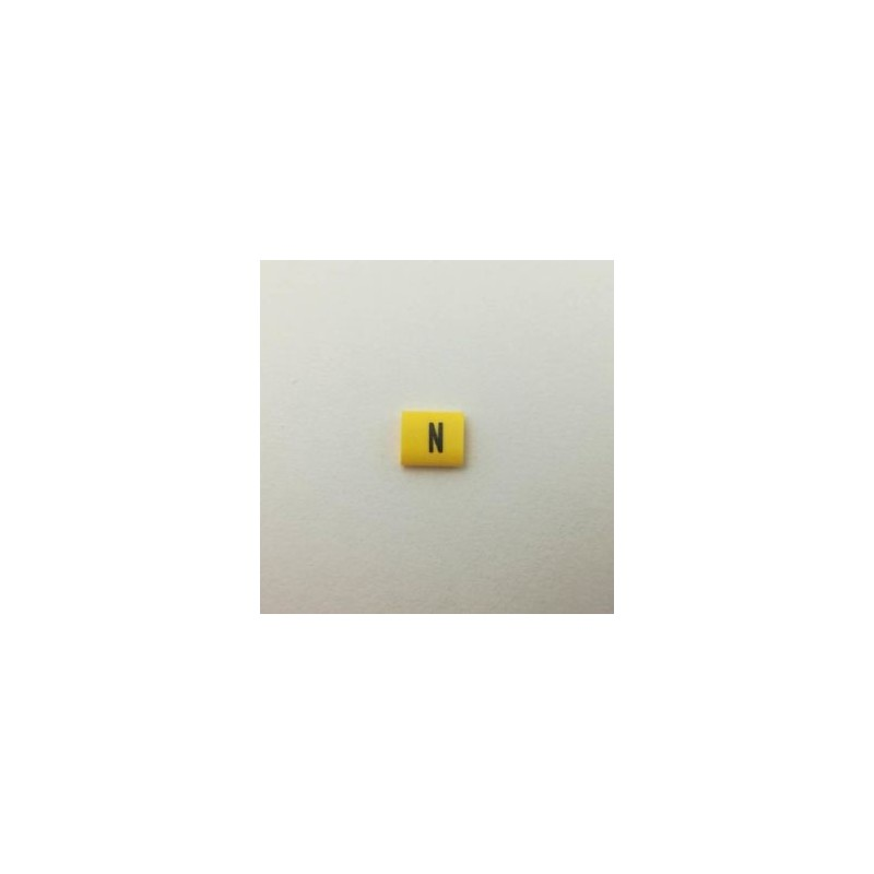 Oznacznik kablowy nasuwany N, przek. 0,75mm2