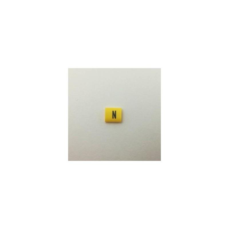 Oznacznik kablowy nasuwany N przek. 2,5mm2