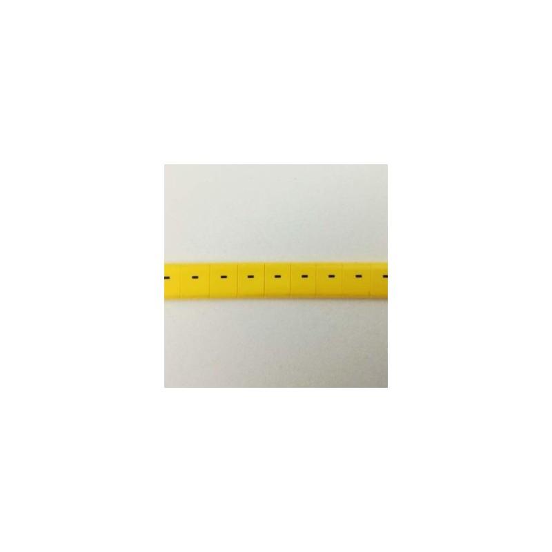 Oznacznik kablowy nasuwany znak - , przek. 0,75mm2