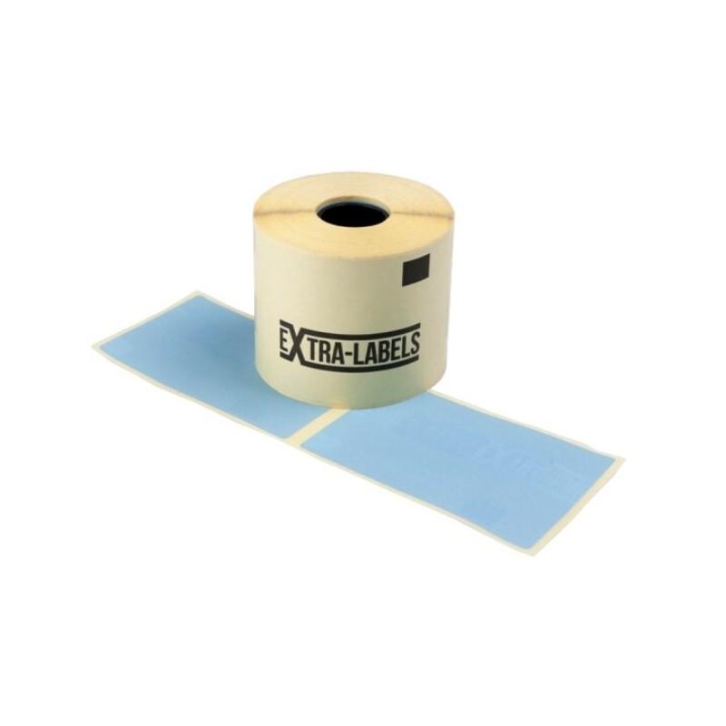 ZE-62102LANTOP etykiety termiczne niebieska 62x102mm