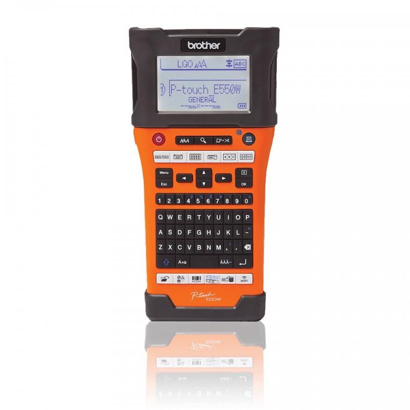 Drukarka termotrasferowa Brother PTE-550WVP dla elektryka