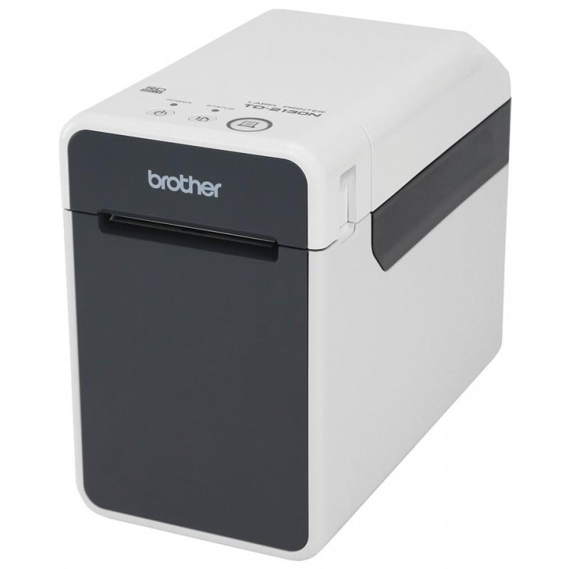 Brother TD 2130N Drukarka etykiet i kodów kreskowych, max szerokość wydruku: 56mm, max długość wydruku: 1m, rozdzielczość 300 dp