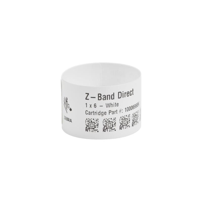 Zebra Z-Band Direct opaski dla noworodków białe