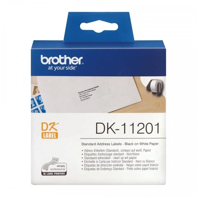 Etykiety Brother DK-11201 29x90mm 400 szt. do drukarek etykiet Brother QL