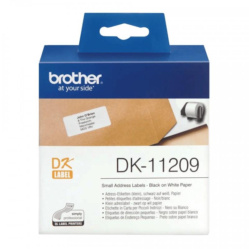 Etykiety Brother DK-11209 29x62mm 800 szt. do drukarek etykiet Brother QL
