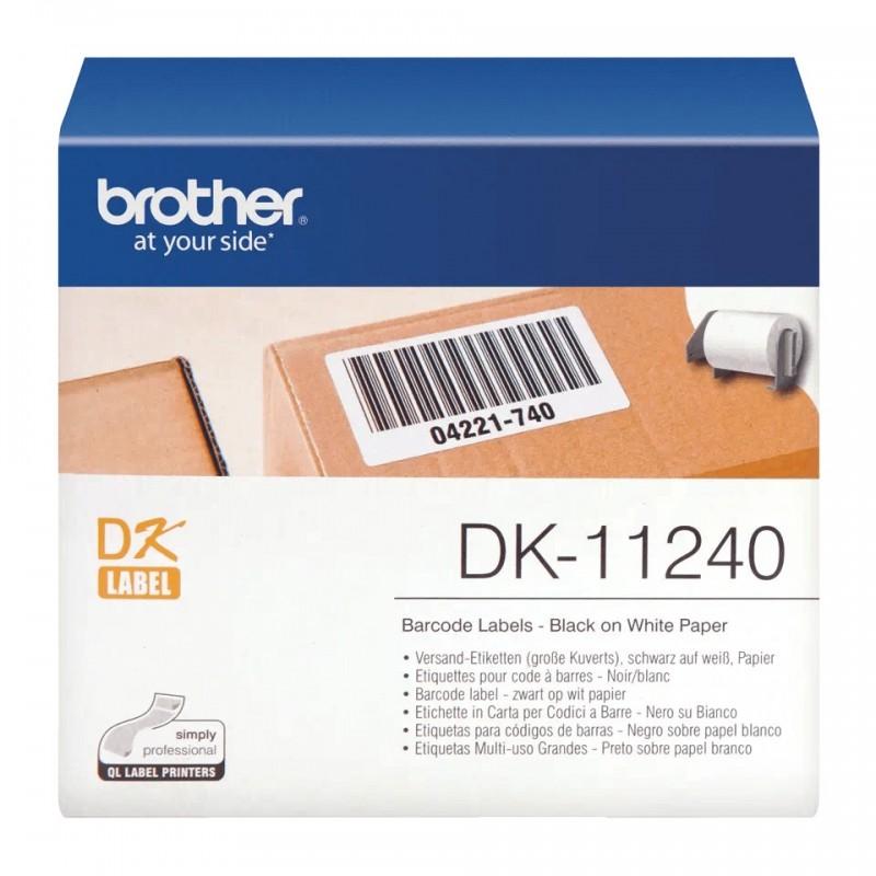 Etykiety Brother DK-11240 102x51mm 600 szt. do drukarek etykiet Brother QL