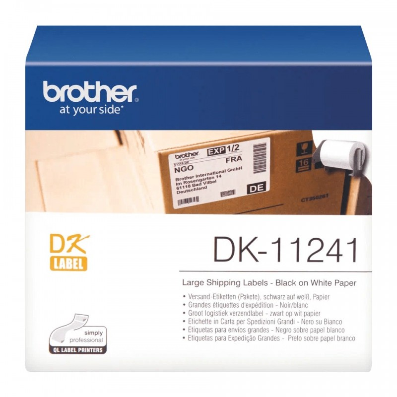 Etykiety Brother DK-11241 102x152mm 200 szt. do drukarek etykiet Brother QL
