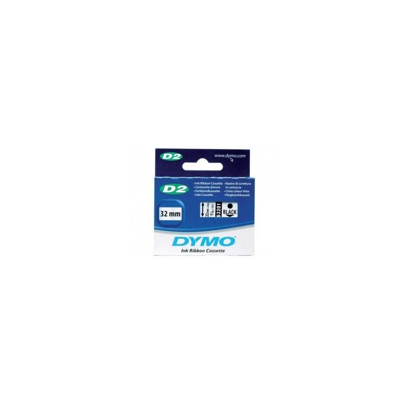 Taśma pisząca Dymo D2 32 mm x 50 m czarna