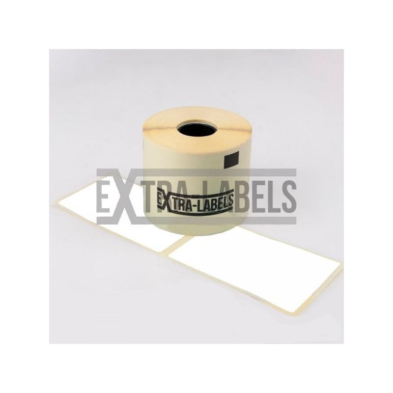 ZE-62102TOP etykiety termiczne białe 62 x 102 mm